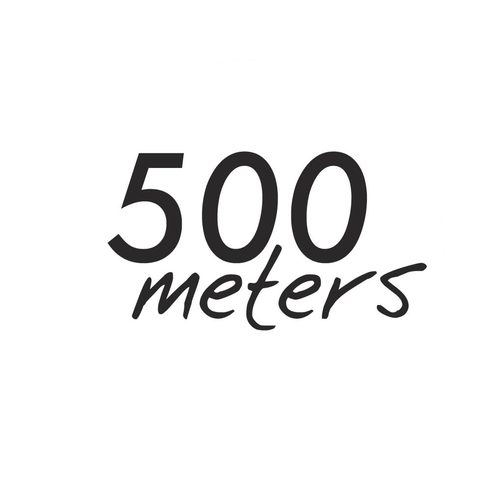 500meters